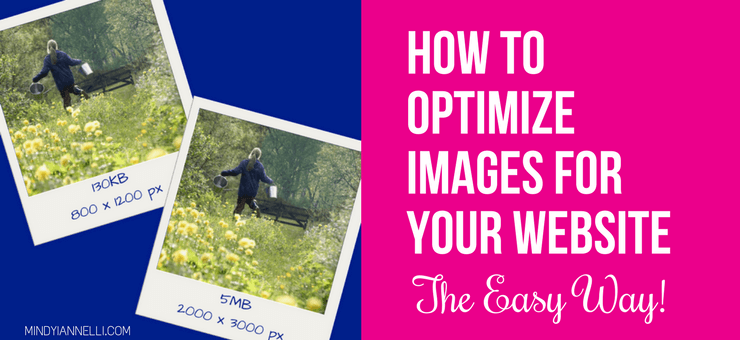 How to optimize images for your website the easy way