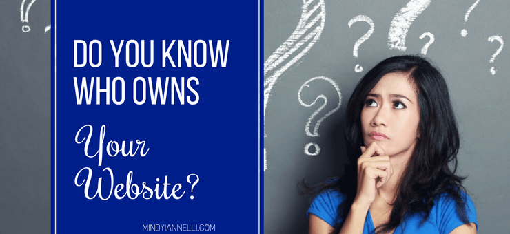 Do You Know Who Owns Your Website?